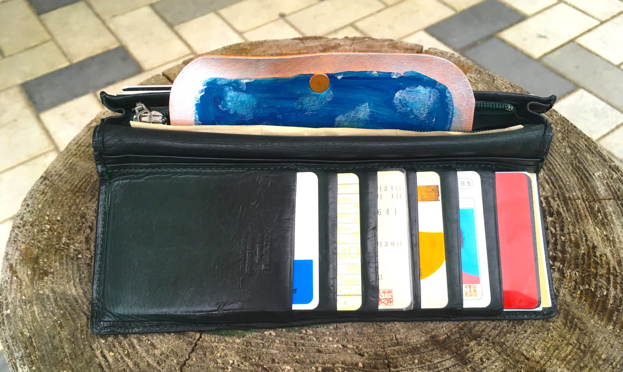 財布イン小銭入れ2