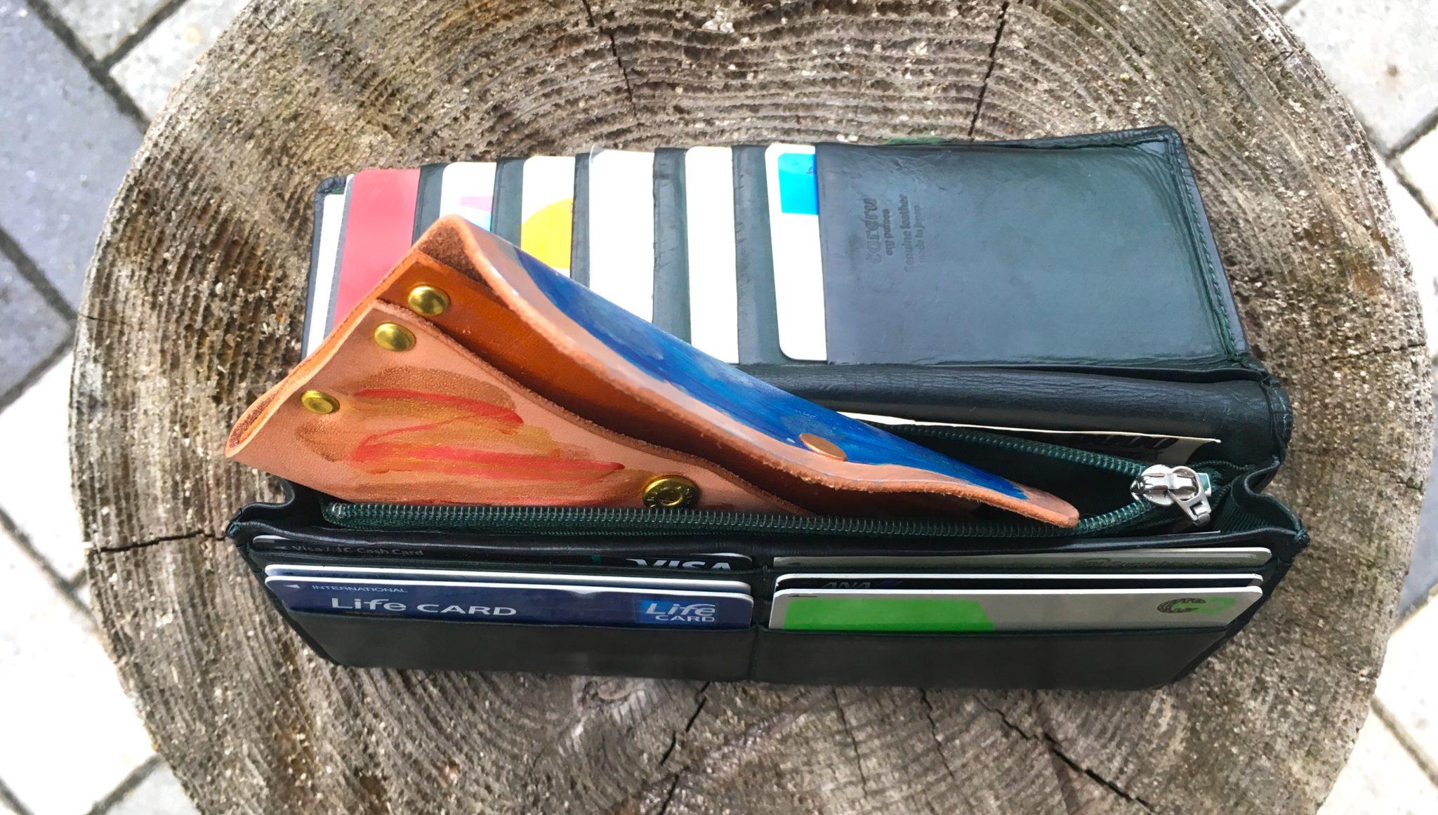 財布イン小銭入れ1